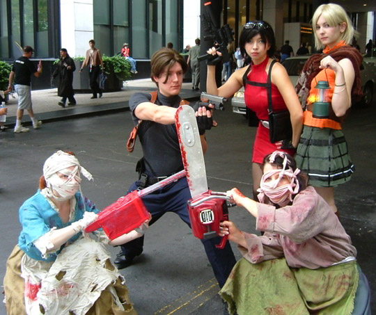RE4 Costumes!!!