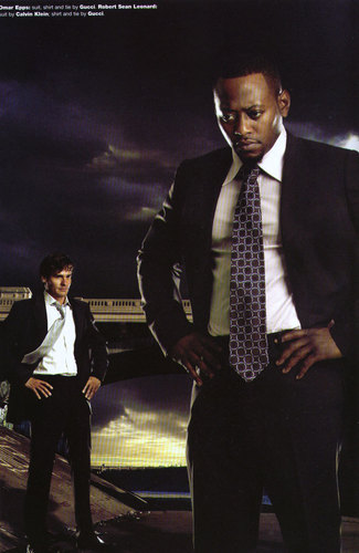 RSL and Omar Epps - Emmy 05 ad - robert-sean-leonard Photo