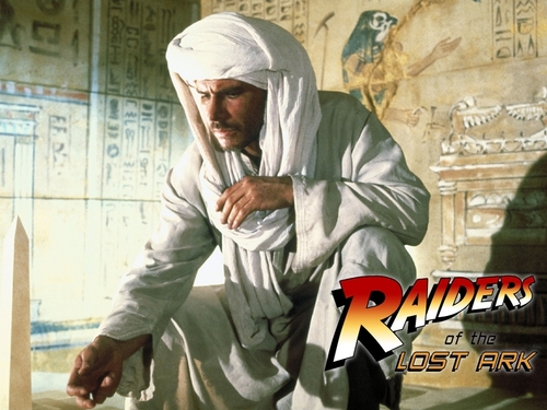 80s Films 바탕화면 titled Raiders of the 로스트 Ark