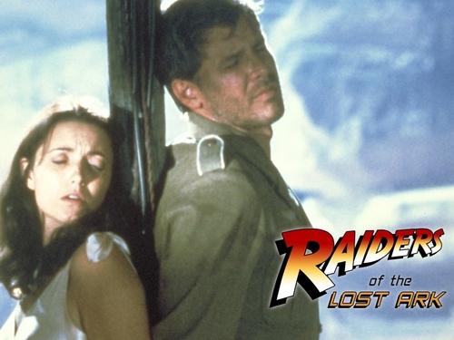 80s Films 바탕화면 titled Raiders of the 로스트 Ark