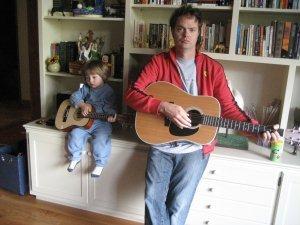 Rainn Wilson wallpaper called Rainn & Son Walter