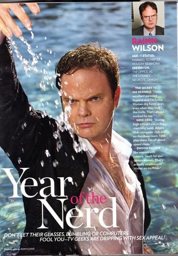 Rainn Wilson in People Scan