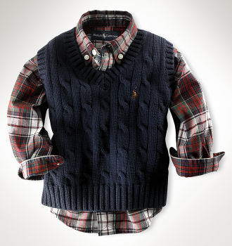 Ralph Lauren Infant Vest