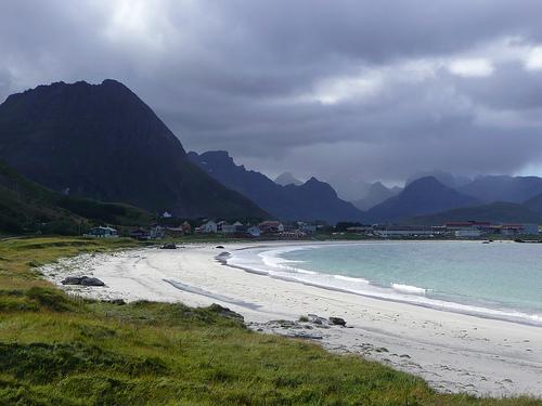 Ramberg beach, Lofoten, Norway