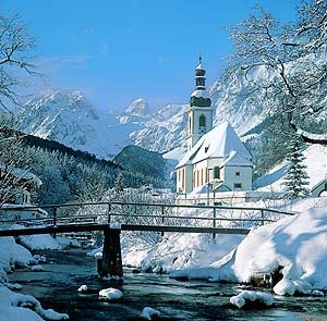 Winter wallpaper titled Ramsau