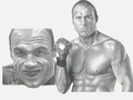 "Randy ""The Natural"" Couture - mma fan art"