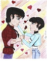Ranma & Akane in love - creative-outlet fan art