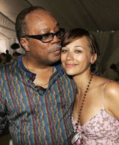 Rashida & Dad Quincy Jones