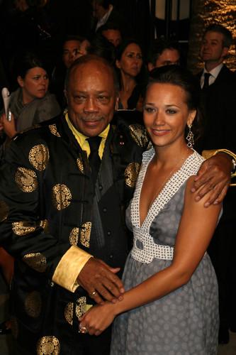 Rashida & Dad Quincy