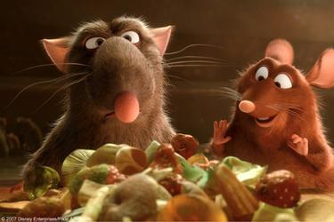 Disney achtergrond called Ratatouille