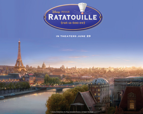 Pixar fond d'écran called Ratatouille