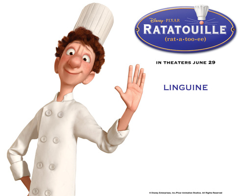 Pixar kertas dinding entitled Ratatouille