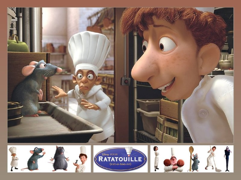 ratatouille wallpapers. Ratatouille Wallpaper