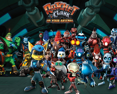 Ratchet &amp; Clank - ratchet-and-clank Wallpaper