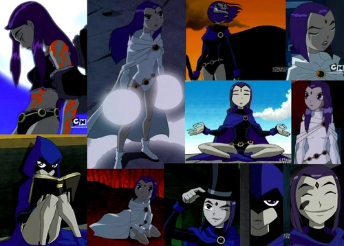 Teen Titans wallpaper entitled Raven Collage