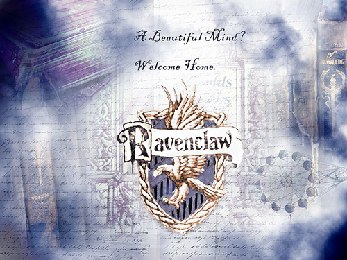 Hogwarts Wallpaper Titled Ravenclaw