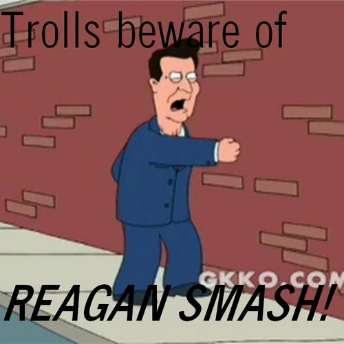Reagan Smash!