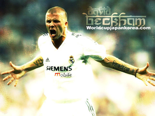 Real Madrid Beckham
