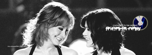 Reba and Kelly