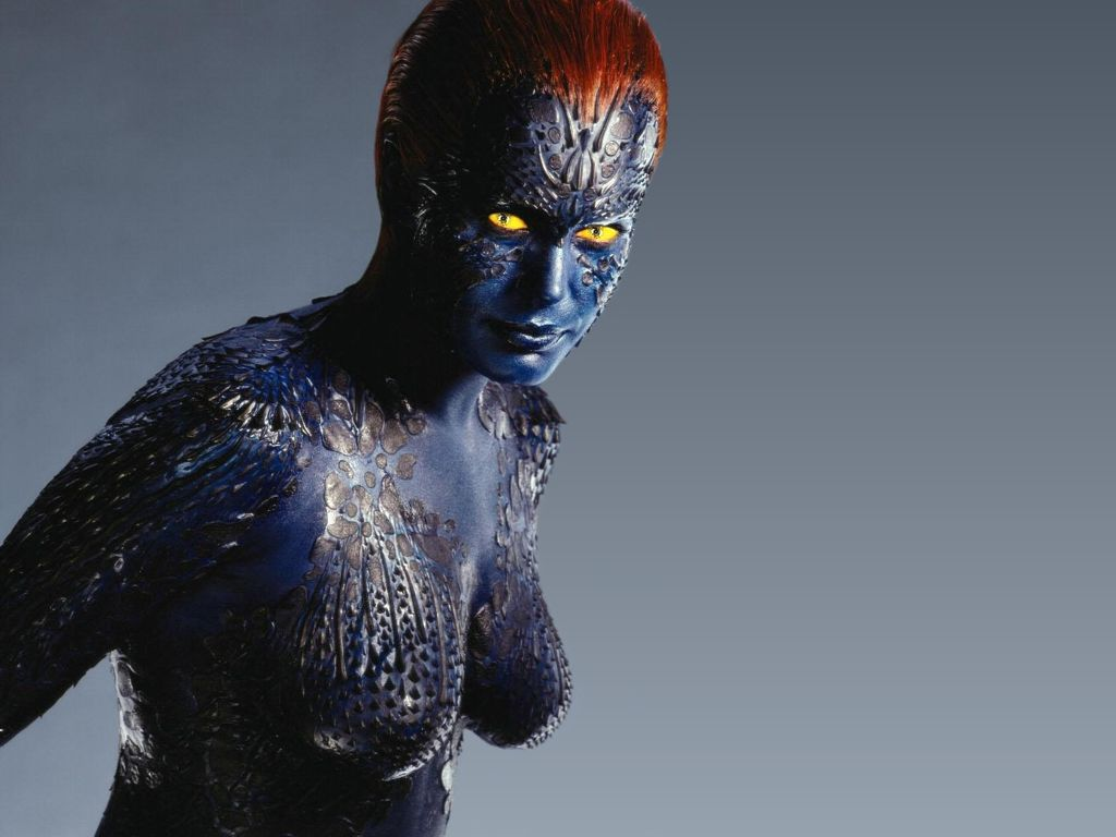 Rebecca Romijn as Mystique in X-Men:The Last Stand