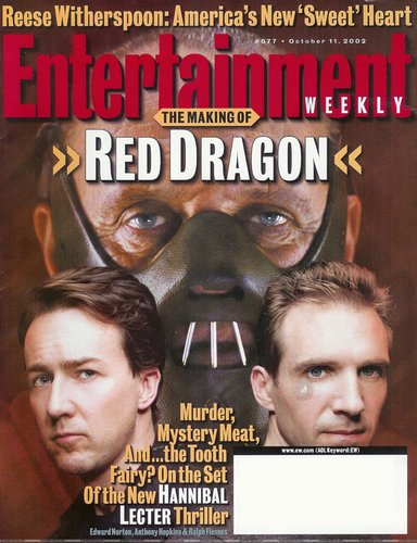 Red Dragon Ent Weekly 10/11/02 - edward-norton Photo