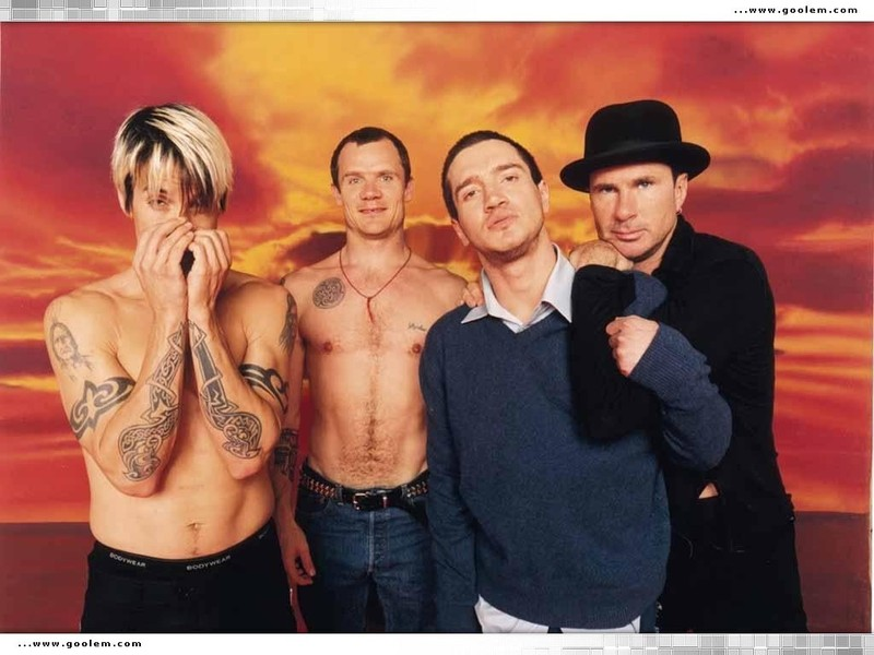 red hot chili peppers wallpaper. 4 . red hot chili peppers red