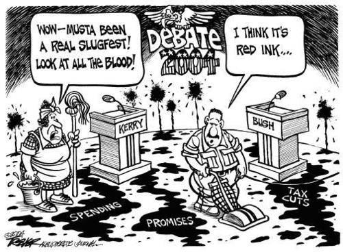 Red Ink - debate Photo