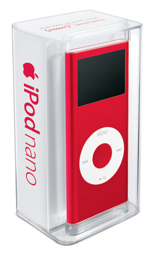 Red Hintergrund entitled Red Ipods