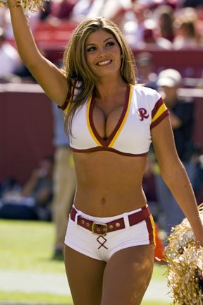 Red hot Cheerleader