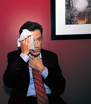 Removing Makeup - the-colbert-report Photo