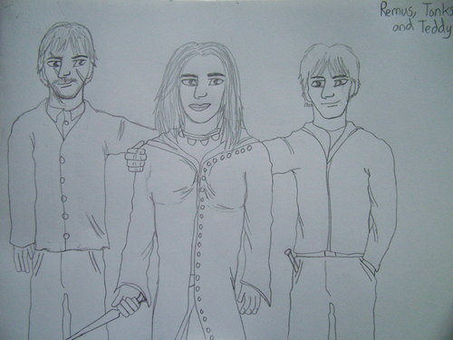 Remus, Tonks and Teddy
