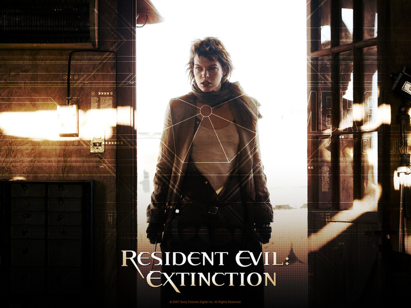 resident evil wallpapers. Resident Evil : Extinction