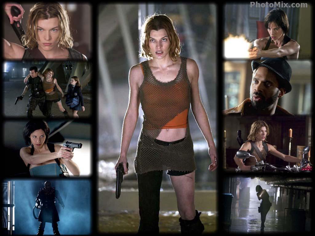 Resident Evil: Apocali... Milla Jovovich Resident Evil Apocalypse
