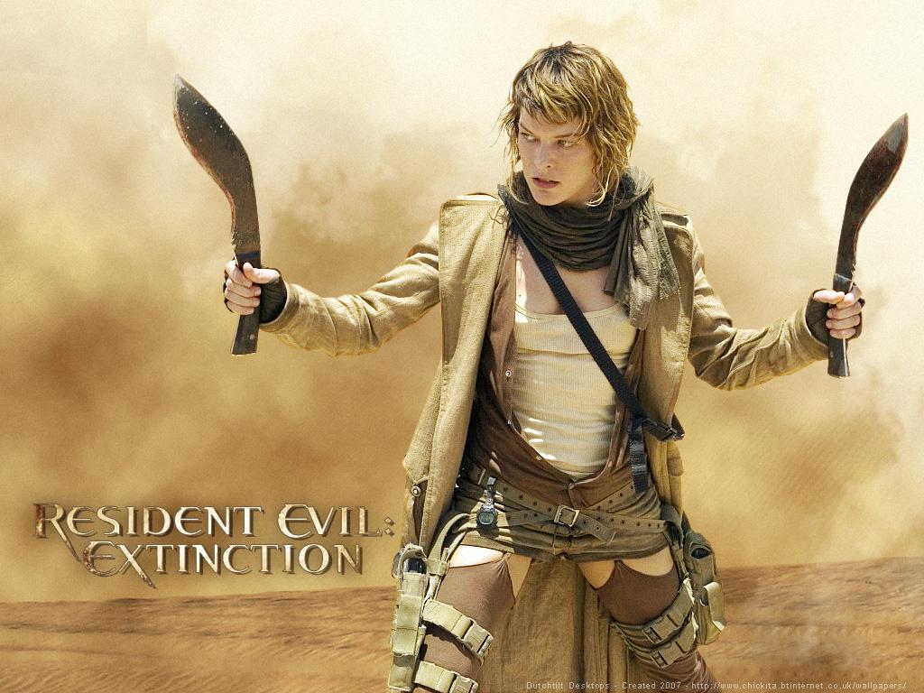 Milla Jovovich Resident Evil: Extinction