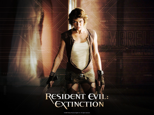 filmes wallpaper entitled Resident Evil: Extinction