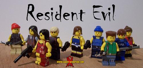 Resident Evil fond d'écran titled Resident Lego