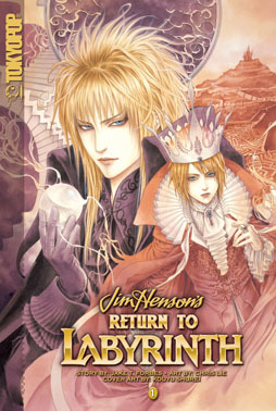 Labyrinth Hintergrund titled Return To The Labyrinth Manga