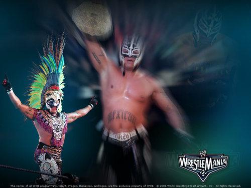 Rey Mysterio - Wrestlemania 22