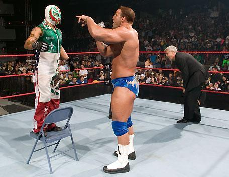Rey Mysterio and Chris Masters