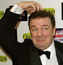 Ricky Gervais aka David Brent