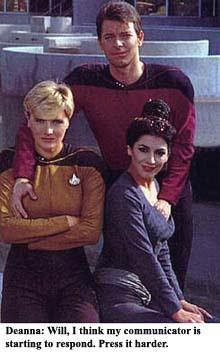 Riker's a pervert