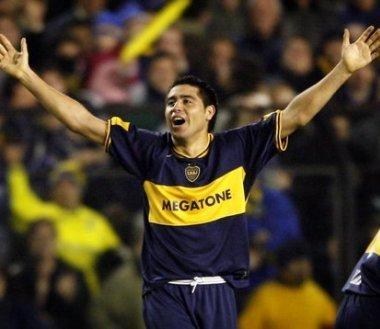 Riquelme's goal celebrations