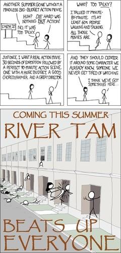 River Tam Beats Up Everyone