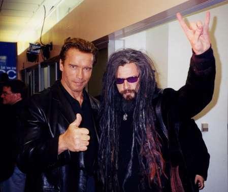 Rob & Arnold Schwarzenegger