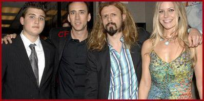 Rob Zombie wallpaper called Rob, Sheri, Nicholas Cage