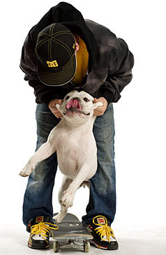 Rob Dyrdek and Meaty - rob-dyrdek Photo