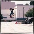 Rob skateboarding