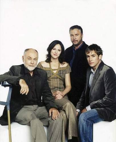 Robbins, Grissom, Sara & Greg