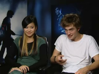 Robert Pattinson & Katie Leung