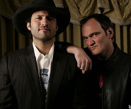 Robert and Quentin Tarantino